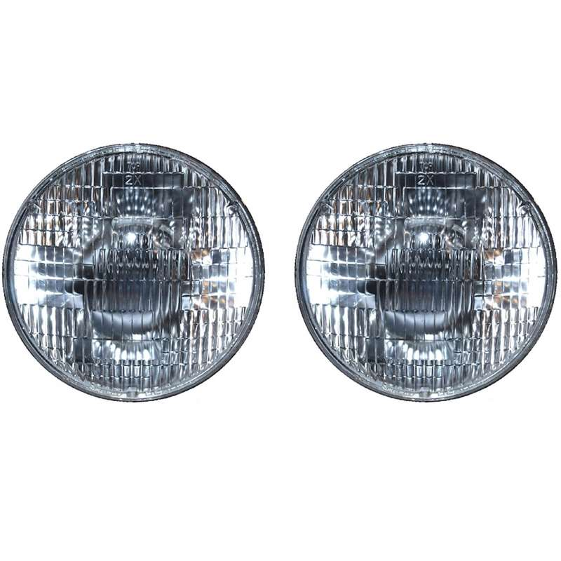 7 Inch Sealed Beam Headlight with 6V Incandescent Bulbs