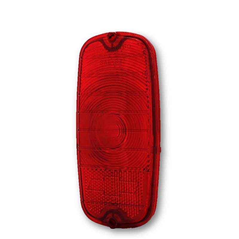 60 61 62 63 64 65 66 Chevy Fleetside Pickup Truck Rear Red Tail Light Lamp Lens