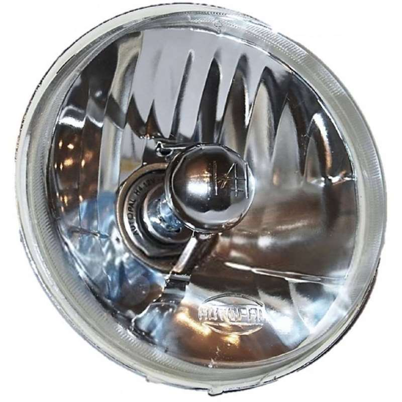 "5-3/4"" Motorcycle Crystal Clear Halogen Headlight H4 Headlamp 60/55W For: Harley"