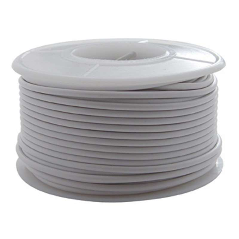 100' Primary Wire Roll - White | Other Accessories