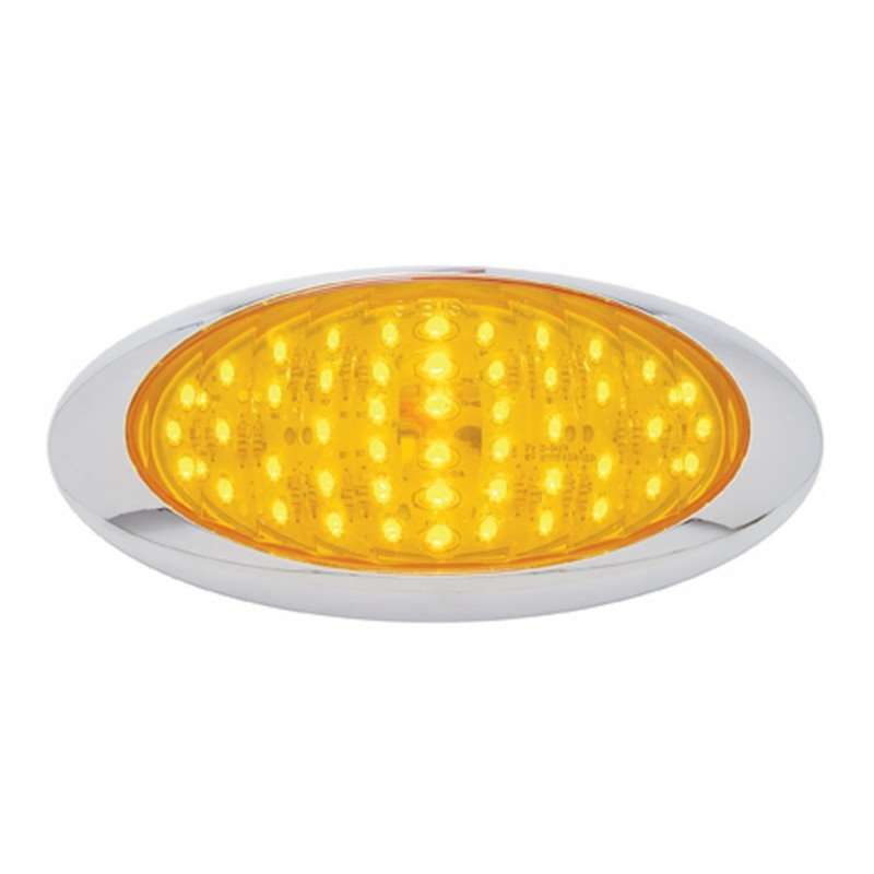 "48 LED ""Phantom III"" Turn Signal Light - Amber LED/Amber Lens 