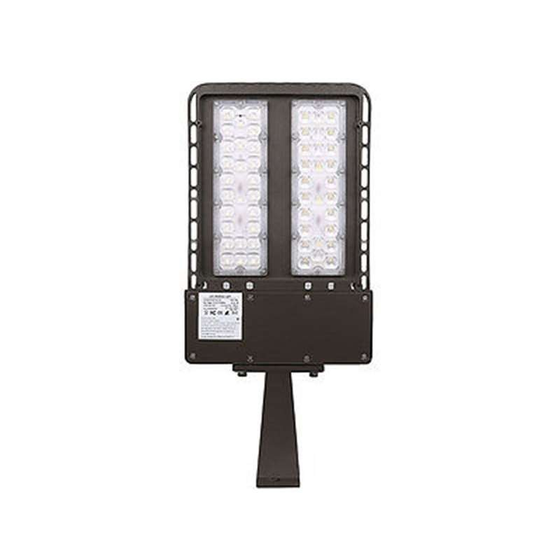 200W LED Shoebox Light Parking Lot Pole Commercial Building Warehouse Lighting