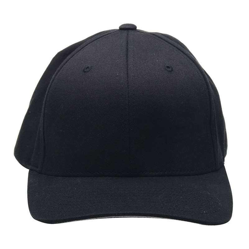 Octane Lighting FlexFit Black Baseball Cap Hat