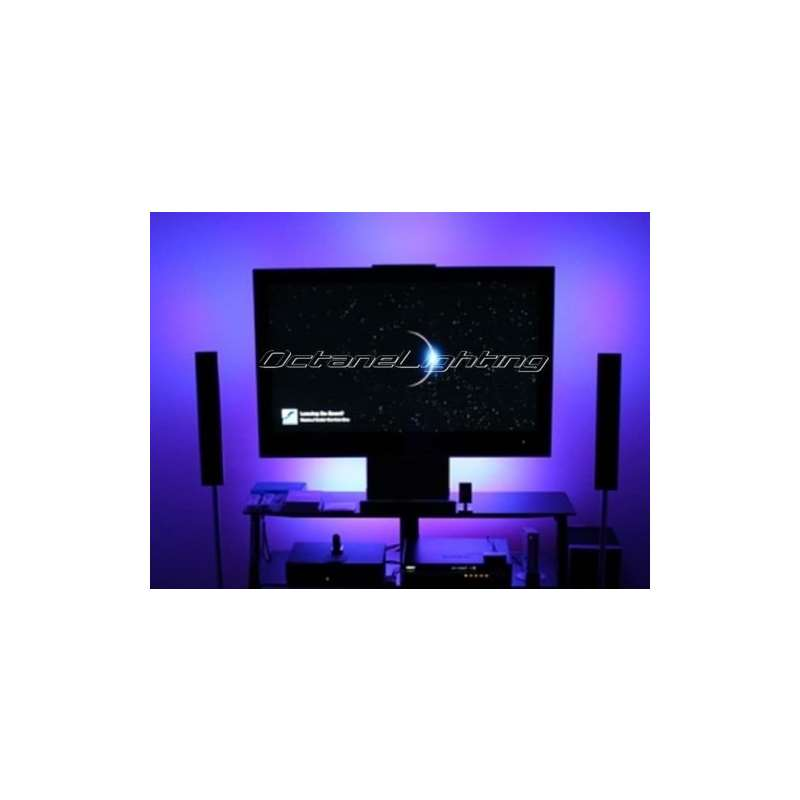 Led Lighting Color Changing Illuminated Back Pc Tv Television Theatre Light Kit