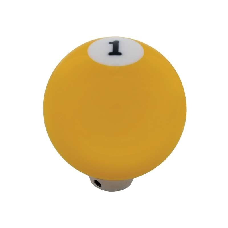 Pool Ball Gearshift Knob - Number 1 Ball | Shift Knobs