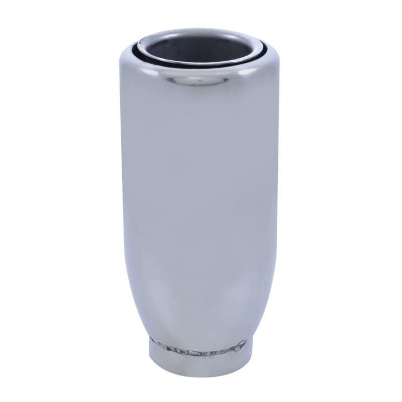 "Stainless Exhaust Tip - 2"" Pipe 