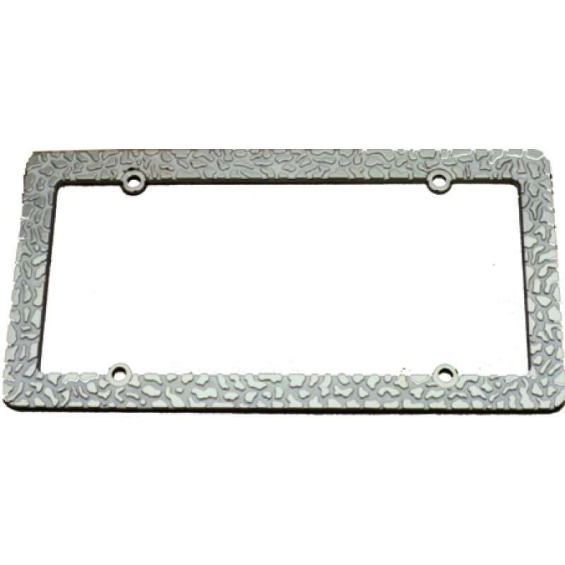 Chrome Nugget License Frame | License Plate Frames