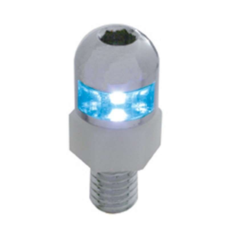 1 LED License Fastener - Blue LED | License Plate Accessories