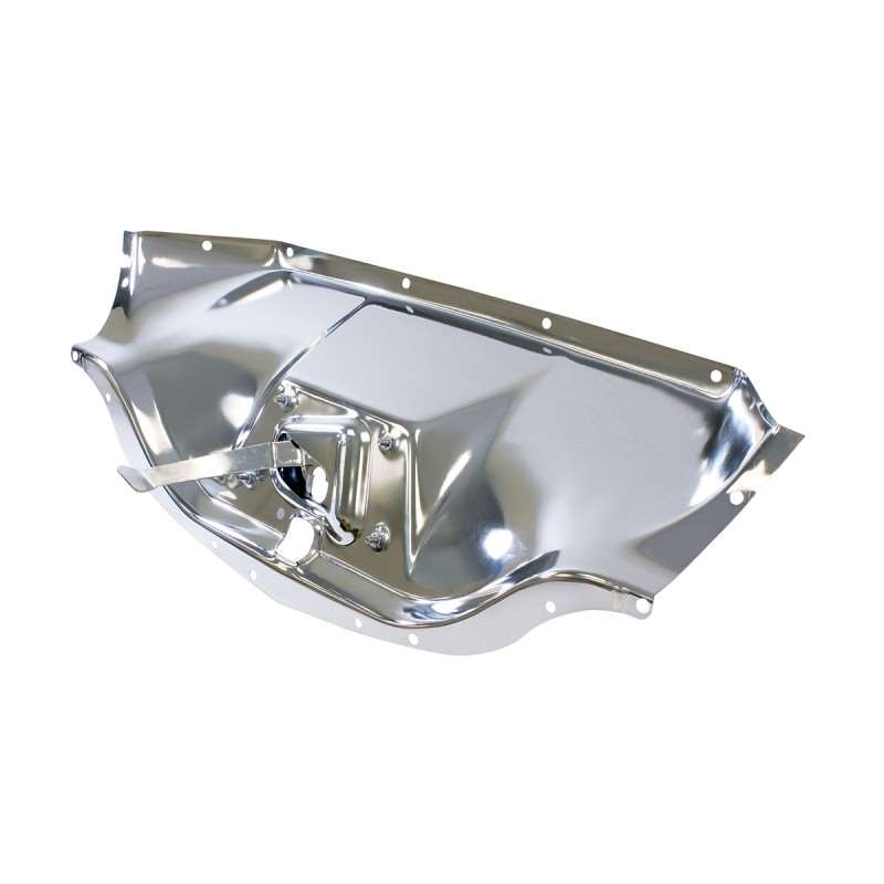 1947 - 1954 Chevy Truck Chrome Hood Latch Panel | Body Accessories