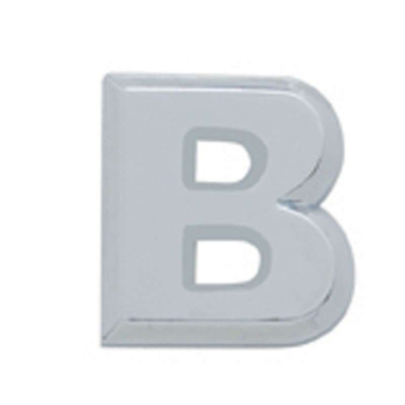Chrome Letter - B | Letters / Scripts