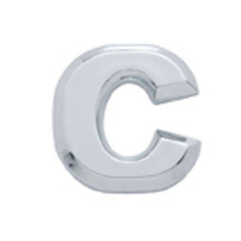 Chrome Letter - C | Letters / Scripts