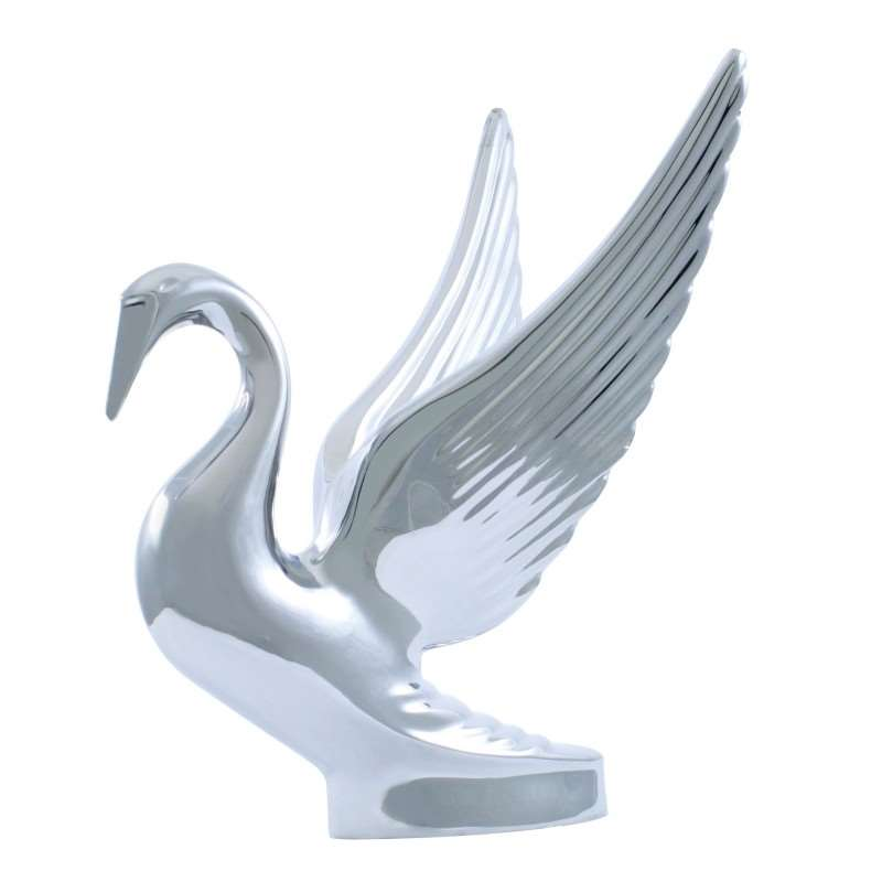 Swan Hood Ornament | Hood Ornaments