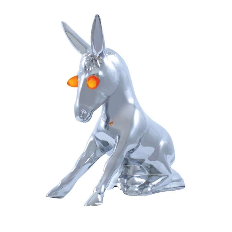 Donkey w/ Illuminated Eyes Hood Ornament | Hood Ornaments