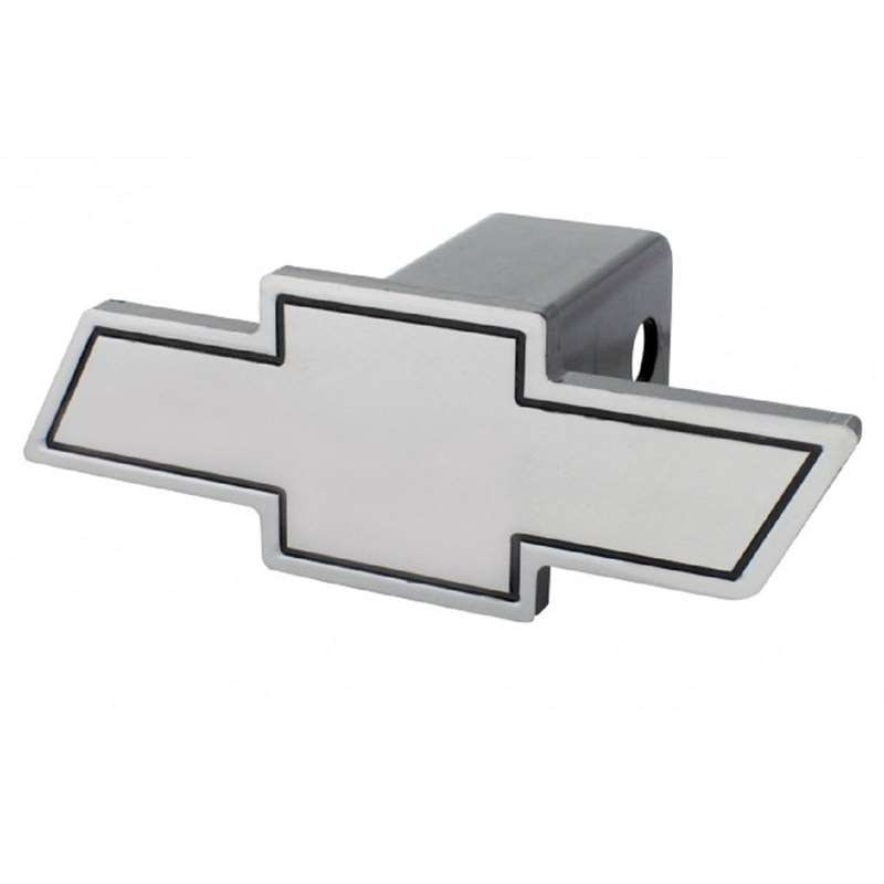 "OCTANE LIGHTING Chevrolet Pick-Up Truck Billet Chevy Bowtie Logo 2"" Trailer Hitch Receiver Cover"