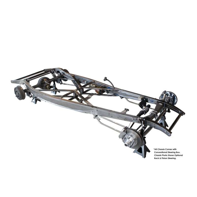 1932 Ford Automatic Chassis - Chrome / S.S. Suspension | Chassis Components