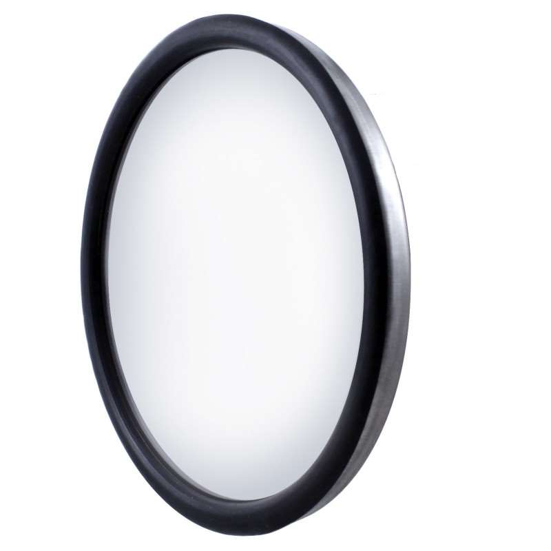 "Stainless 8 1/2"" Convex Mirror - 320R - Center 