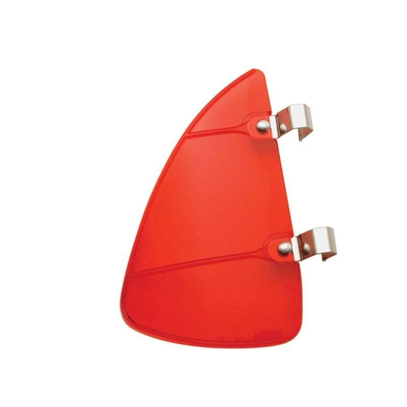 Wind Vent Window Breezies - Red | Windshield / Hood Parts