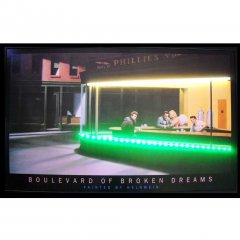 BLVD OF BROKEN DREAMS NEON/LED PICTURE