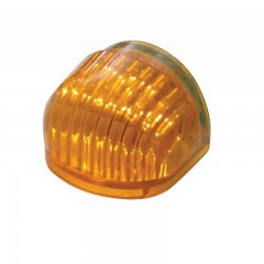 "5 LED Dual Function ""GUIDE"" Headlight Signal - Amber LED/Amber Lens 