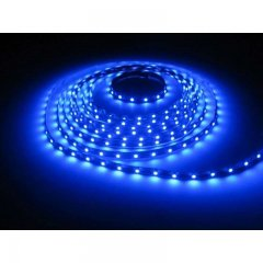 "15"" ft. blue LED roll strip 60 diodes per meter flexible automotive landscape..."