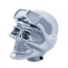 Chrome Skull Biker Shift Knob | Motorcycle Products