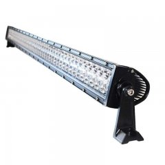 "50"" 300W White Dual Row 100-LED Spot Flood Light Bar Off Road Truck 21000 Lumens"