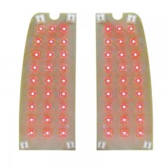 1967-72 Ford Truck / 1967-77 Ford Bronco LED Tail Lamp Circuit Board Upgrade | LED / Incandescent Replacement Lens