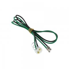 Pig Tail For Tail Light - Green/Black | Electrical Kits / Hardware