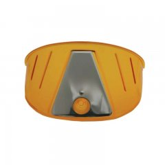 Transparent Plastic Visor - Amber | Headlight Visors and Shields