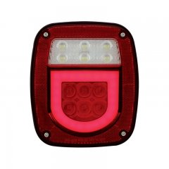 Universal Stud Mount LED Combination GLO Light - Driver | Stop / Turn