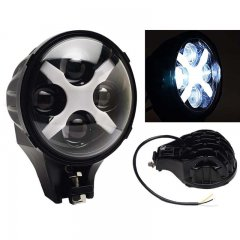 "6"" Jeep Off Road LED X Auxiliary Fog Spot Flood Light 6k 40w 8000 Lmn"