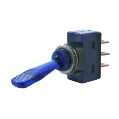 Glow Toggle Switch - Blue | Switches / Buttons