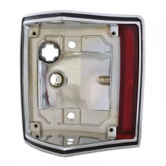 1970-72 El Camino / Station Wagon Chrome Tail Light Housing - Left Hand | Lighting Hardware