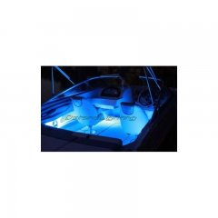 15Ft Blue Led 12V Marine Party Ski Boat Boating Yacht Light Bulb Strip 15' Feet