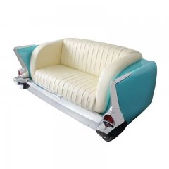 1957 Chevy Leather Sofa | Displays / Merchandises