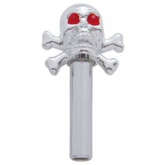 Chrome Skull Door Lock | Door Locks