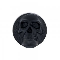 Black Skull Dash Knob | Dash Knobs / Screws