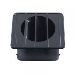 1967-72 Chevy / GMC Truck Defroster Duct - Right Hand Black | Dash / Steering