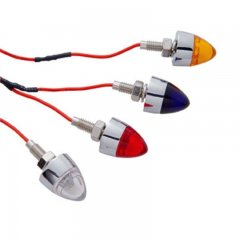 1 LED Bullet License Fastener - Red LED | License Plate Accessories