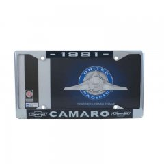 1981 Camaro License Plate Frame | License Plate Accessories