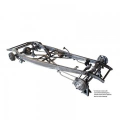 1932 Ford Stick Shift Chassis - Chrome / S.S. Suspension | Chassis Components
