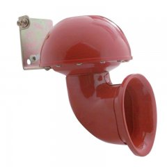 Electric Bull Horn with Control Lever - Red | Specialty Horns / Whistles