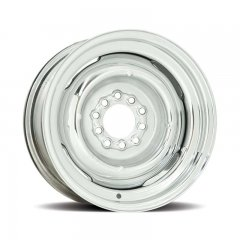 Hot Rod 16 Series Gennie Wheel with Chrome Finish - 15 x 6"