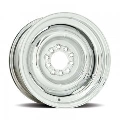 Hot Rod 16 Series Gennie Wheel with Chrome Finish - 16 x 6"