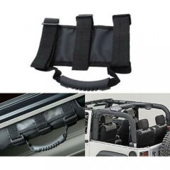 Roll Cage Door Bar Strap Grab Handle Each For 1987-2017 Jeep Wrangler YJ TJ JK