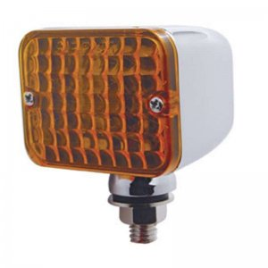 Small Rectangular Auxiliary Light - Amber | Honda / Pedestal