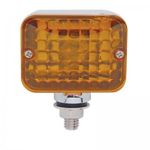 Medium Rectangular Auxiliary Light - Amber | Honda / Pedestal