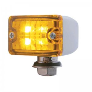 4 LED Small Rod Light - Amber LED/Amber Lens | Honda / Pedestal