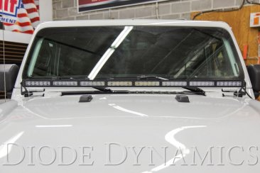 Jeep 2018 Hood Bracket Kit Diode Dynamics