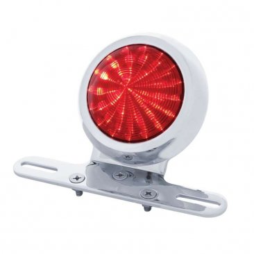 """1950s Pontiac Style"" LED Fender Light - Red Lens 
